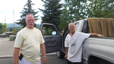 Ken and Mary come to the Mount Shasta Farmers' Market